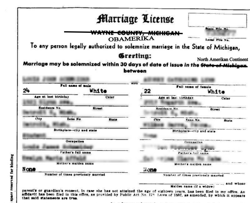 Stop Issuing Marriage Licenses Altogether. | Right Michigan