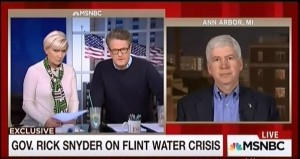 Snyder Morning Joe Image