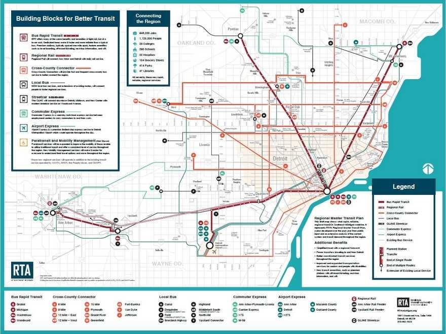 RTA Transit Map a