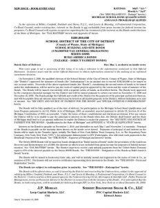 DPS 2009B Bond Statement