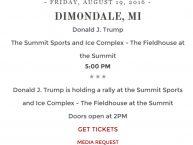 Dimondale-Trump
